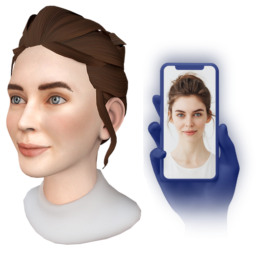 3D_Avatar_Real_Person_Comparison