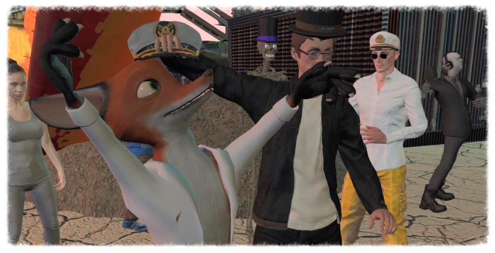 Menithal, created and hosts his wonderful fox avatar himself