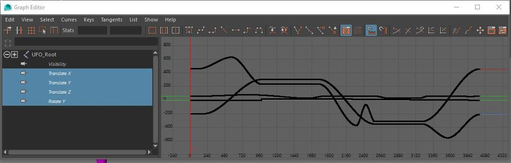 High Fidelity expects animation curves to be baked