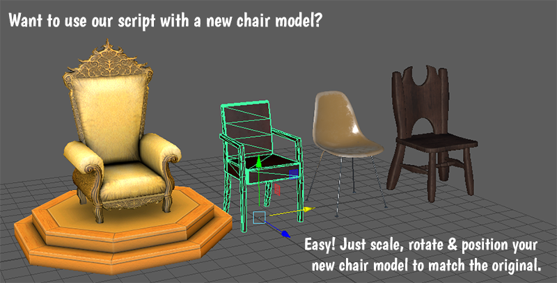 By making the base mesh invisible (turn off the Visible property) and placing it over other surfaces (such as benches, giant mushrooms or sofas) you can derive all kinds of new sitting experiences in High Fidelity VR.