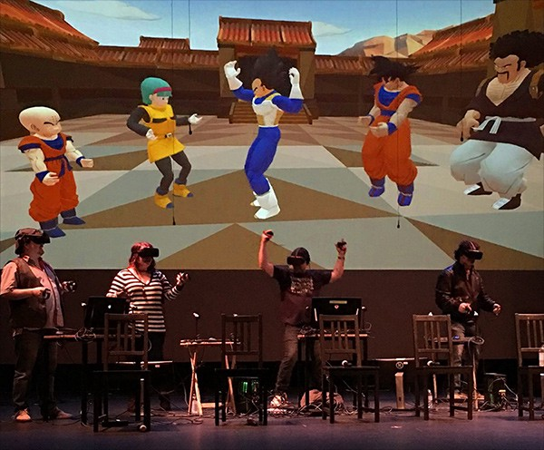 Dragon Ball Z in High Fidelity at SF Sketchfest