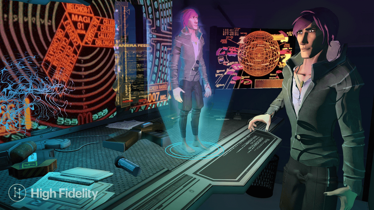 High Fidelity VR Salons: from Blockchain to Avatar Identity