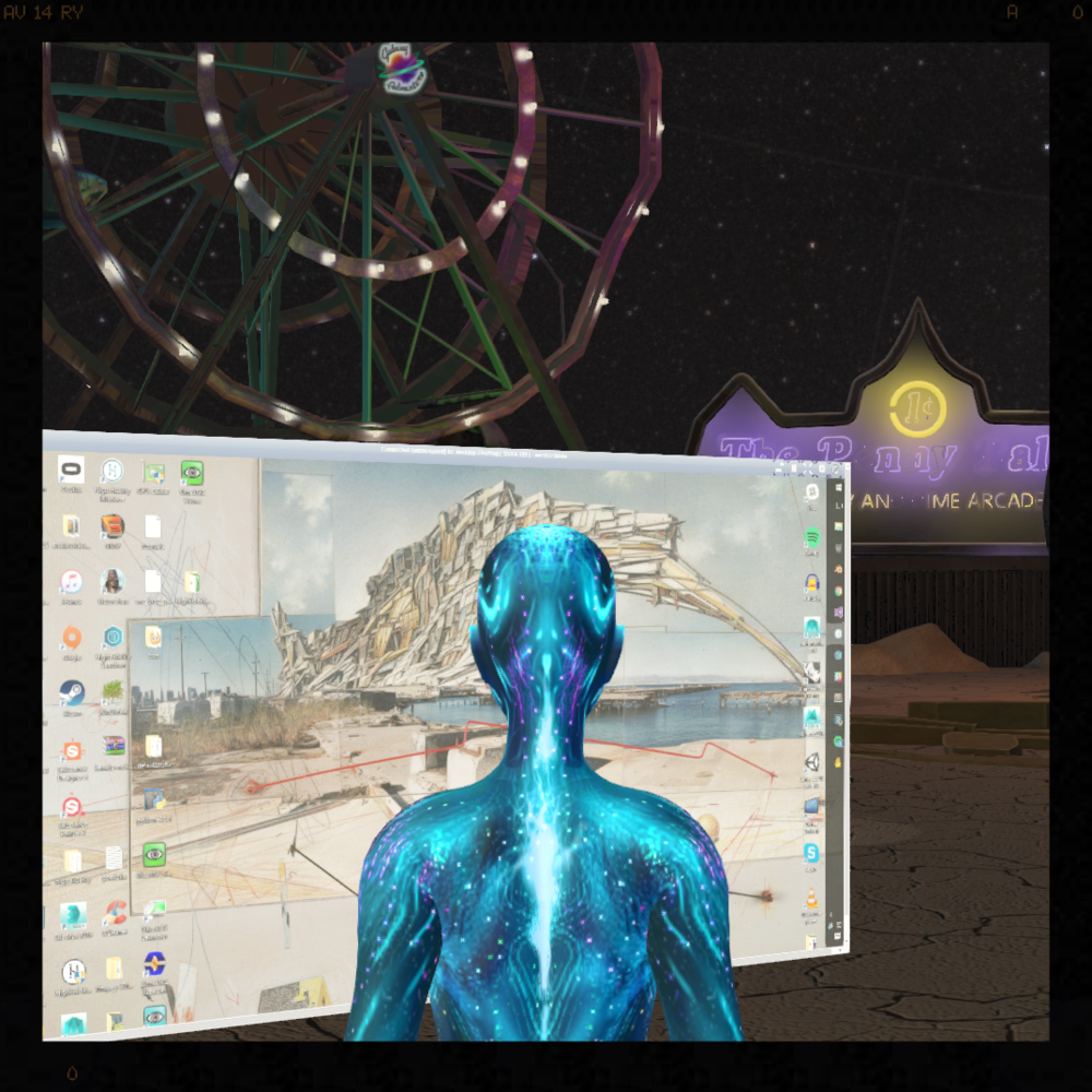 VNC in VR: Synchronized Virtual Desktops
