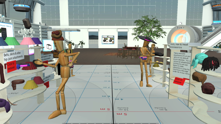 Express Your Individuality — Try Our Wooden Mannequin Avatar!